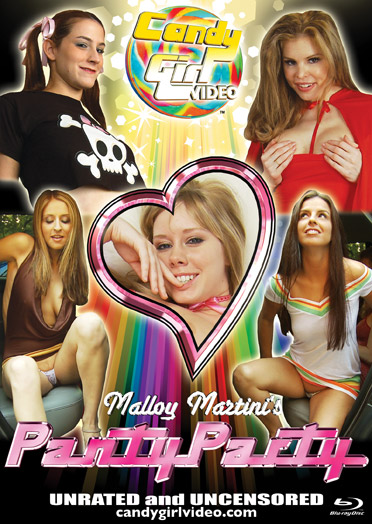 Malloy Martini's Panty Party Blu-ray cover