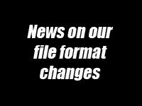 Video file format changes