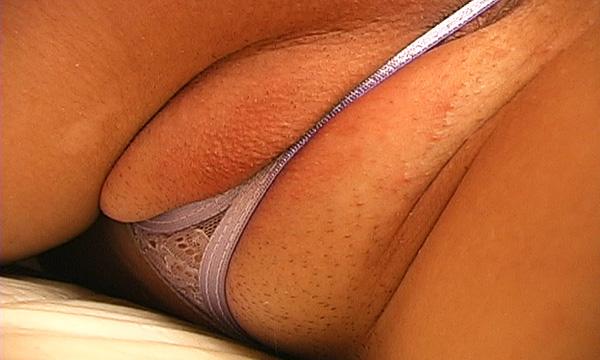Micro thong close-up of Addie Juniper