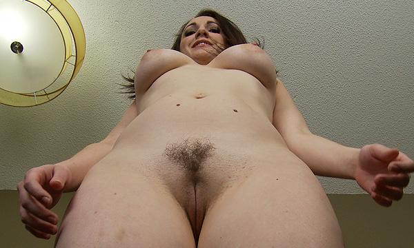 Angelique Kithos exercises in the nude