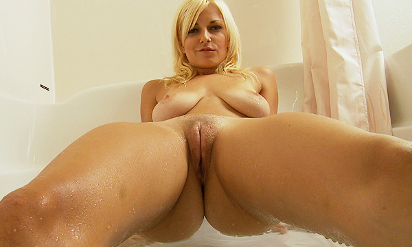 Danielle Trixie nude in a bath tub