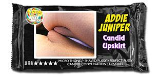 Addie Juniper - Candid Upskirt