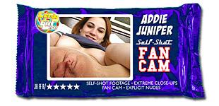 Addie Juniper - Self Shot Fan Cam video