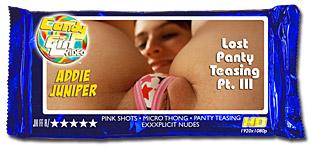 Addie Juniper - Lost Panty Teasing Pt. III