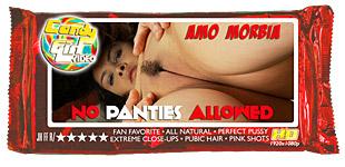 Amo Morbia - No Panties Allowed video