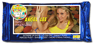 Angel Lee Sexy Stretching video