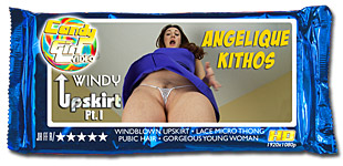 Angelique Kithos - Windy Upskirt Pt. I video