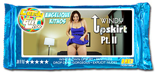 Angelique Kithos - Windy Upskirt Pt. II video