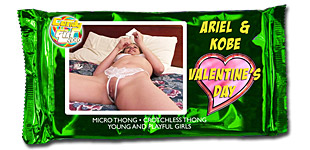 Ariel Andrews and Kobe Lee - Valentine's Day video