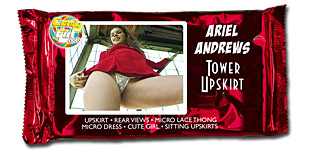 Ariel Andrews - Tower Upskirt video