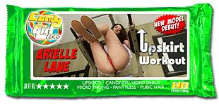 Arielle Lane - Upskirt Workout