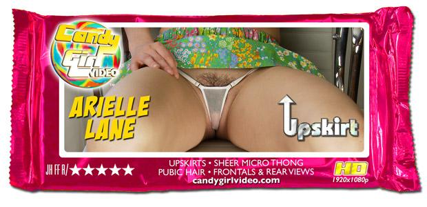 Arielle Lane - Upskirt