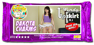 Dakota Charms - Windy Upskirt Pt. I video