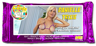 Danielle Trixie Illegal Bikini Fashion Show video
