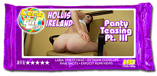 Hollis Ireland - Panty Teasing Pt. III video