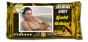 Jasmine Grey - Gold Bikini video