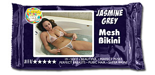 Jasmine Grey - Mesh Bikini video