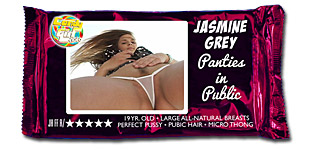 Jasmine Grey - Panties in Public video