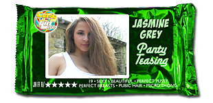 Jasmine Grey - Panty Teasing video