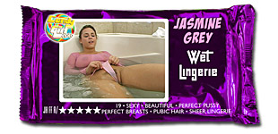 Jasmine Grey - Wet Lingerie video