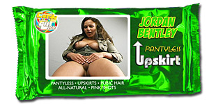 Jordan Bentley - Pantyless Upskirt video