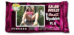 Kalani Breeze - Best Upskirt Pt. II video