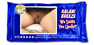 Kalani Breeze - We Salute You Upskirt video