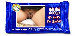 Kalani Breeze - We Salute You Upskirt video