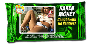 Karen Money - Caught with No Panties video