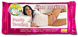 Kenna Valentina - Panty Teasing video