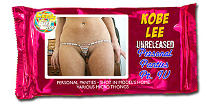 Kobe Lee - Unreleased Personal Panties Pt. IV video