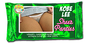Kobe Lee - Sheer Panties video