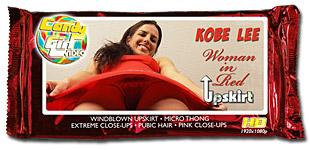 Kobe Lee - Woman in Red Upskirt video