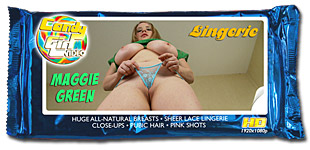 Maggie Green - Luscious Lingerie video