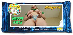 Maggie Green - Lingerie video