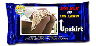 Micah Ashley and Ariel Andrews - Upskirt video