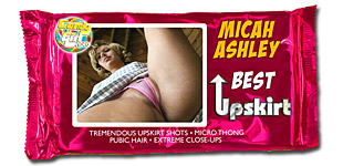Micah Ashley - Best Upskirt video