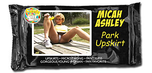 Micah Ashley - Park Upskirt video