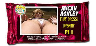 Micah Ashley - That Dress Upskirt Pt. II video