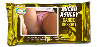 Micah Ashley - Candid Upskirt video