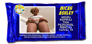 Micah Ashley - Micah Inspires the Personal Panties Series IV video