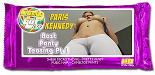 Paris Kennedy - Best Panty Teasing Pt. I video