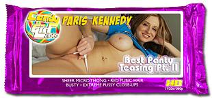 Paris Kennedy - Best Panty Teasing Pt. II video