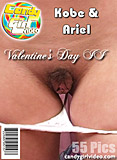 Ariel Andrews and Kobe Lee - Valentine's Day II picture set