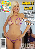 Danielle Trixie Illegal Bikini Fashion Show picture set