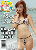 Hollis Ireland - Illegal Bikini Pt. I picture set