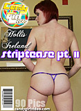 Hollis Ireland - Striptease Pt. II picture set