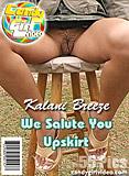 Kalani Breeze - We Salute You Upskirt picture set