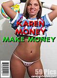 Karen Money - Make Money picture set