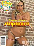 Memphis Monroe - Striptease picture set